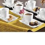 Serviciu de cafea espresso 12 piese