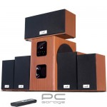 Boxe Genius SW-HF5.1 5050 cherry wood