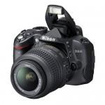 Promotie Aparat foto DSLR Nikon D3000, obiectiv 18-55 VR
