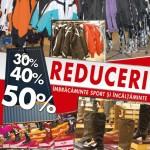 Reduceri 30%-50% la îmbrăcăminte sport şi încălţăminte - Selgros