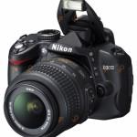 Dslr Nikon D3000 kit AF-s 18-55mm f/3.5-5.6 G VR