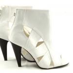 Sandale albe Olga