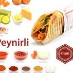 Meniu Kebab Peynirli de pui cu Ayran de la cele 2 locatii Divan Express din Mamaia