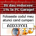 Cod reducere PC Garage
