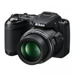 Aparat foto digital Nikon Coolpix L120, Negru