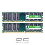 Memorie Corsair 4GB DDR3 1333MHz dual channel