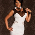 Rochie Eternal Night White