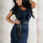 Rochie Chic Reflection Blue