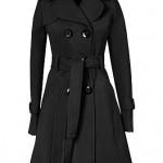 Palton negru de iarna Model 2011