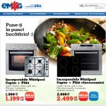 Pachet promo: Cuptor incorporabil +  Plita incorporabila Whirlpool