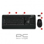 Kit tastatura + mouse Microsoft Wireless BlueTrack Desktop 3000