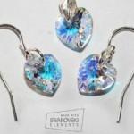 Set bijuterii din argint cu cristale Swarovski