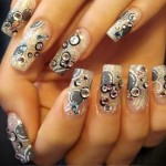 Aplicare unghii false cu acril pe unghie naturala sau tips de la Saria Star Club