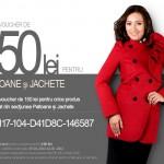 Voucher de 150 lei pentru Paltoane si Jachete