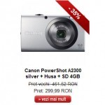 canon powershot a2300 silver