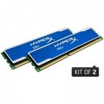 Memorie kingston hyperX Blu 4GB
