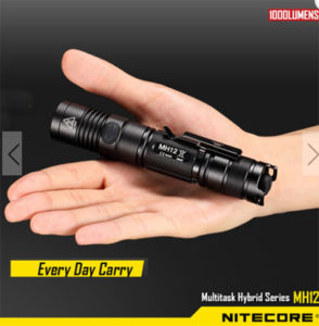 lanterna nitecore led mh12