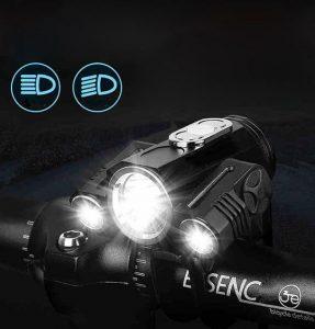 lumina de bicicleta 360°