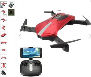 drona selfie eachine e52