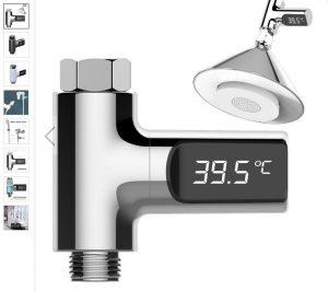 termometru de apa calda pentru dus sau chiuveta