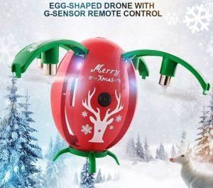 drona de craciun jjrc