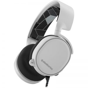 casti gaming steelseries arctis 3 white
