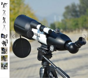 telescopul astronomic portabil