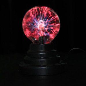 lampa sferica cu plasma