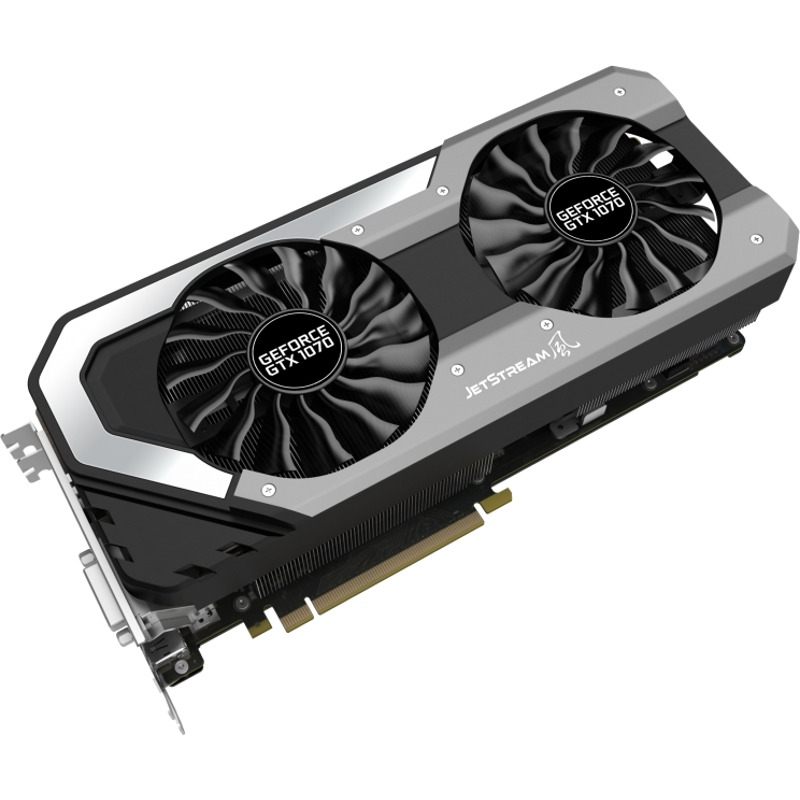 Placa video Palit GeForce GTX 1070 Jetstream 8GB GDDR5 256-bit